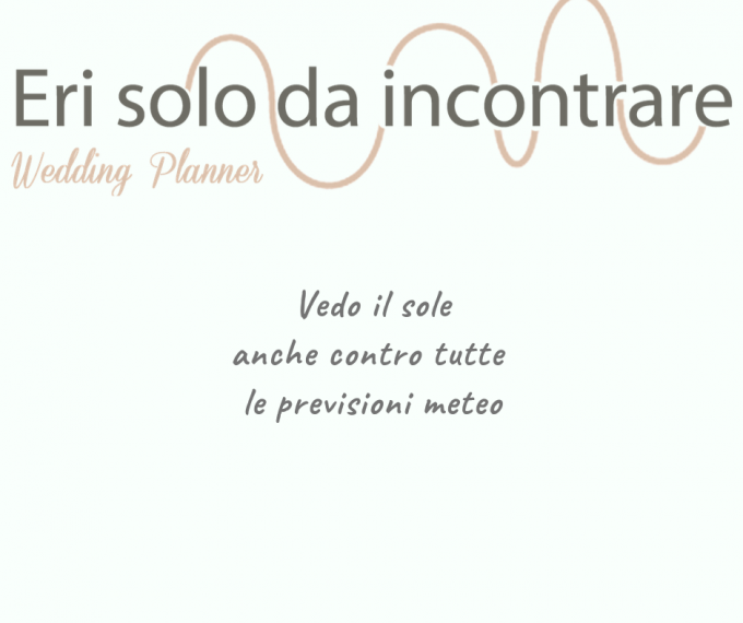Consulenza wedding designer